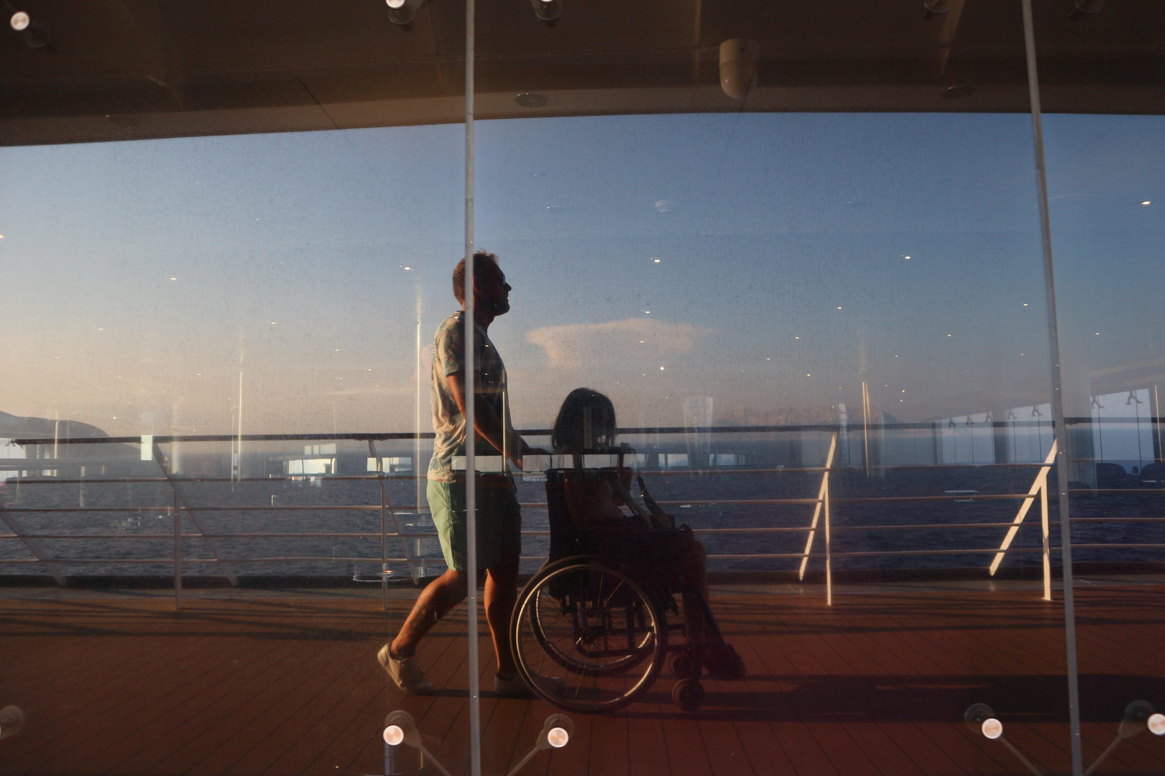Croisière méditerranée en fauteuil roulant