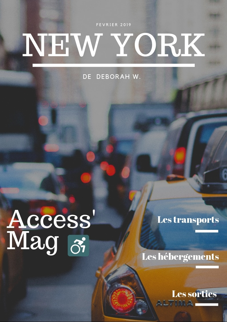 Guide accessibilité New york