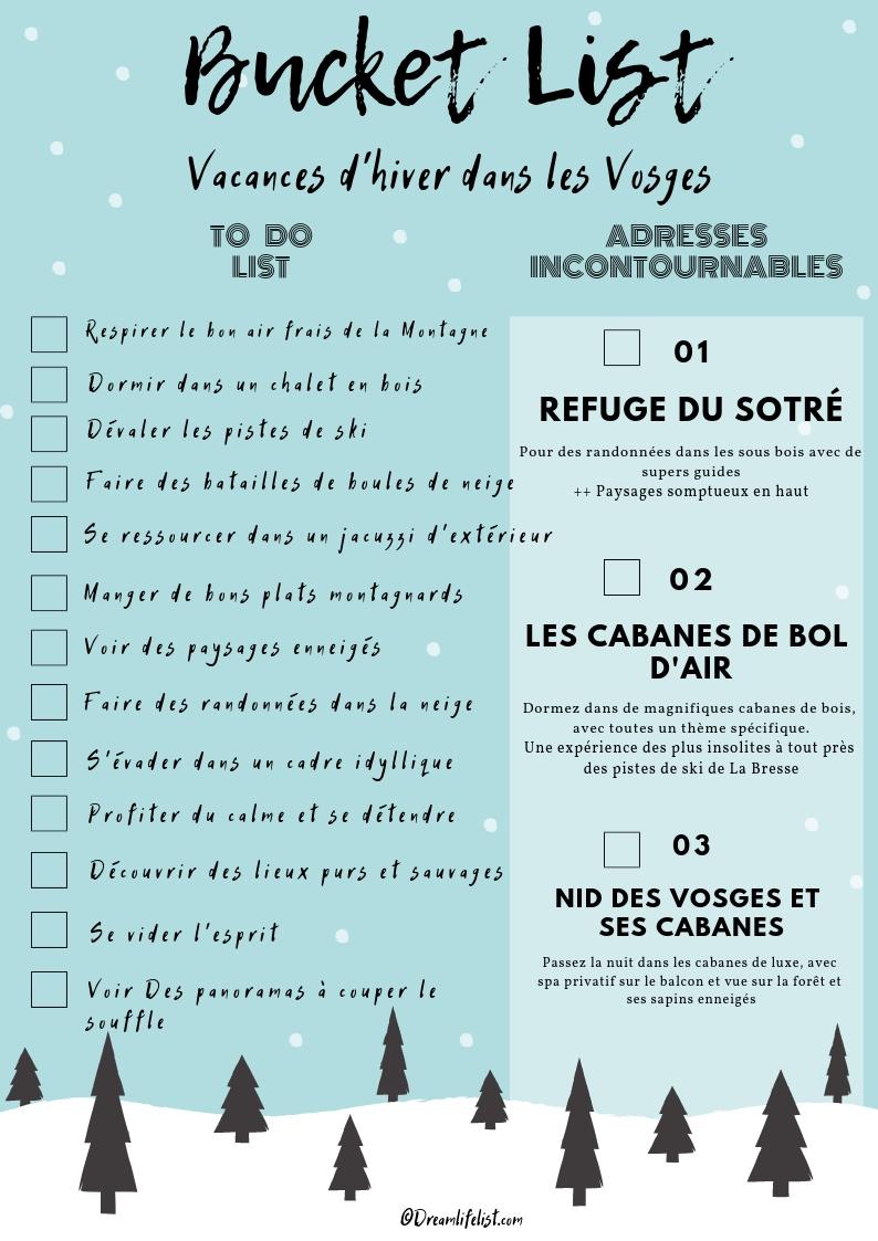 bucket list des Vosges