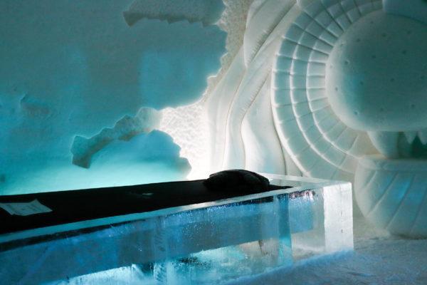 Chambre village de glace