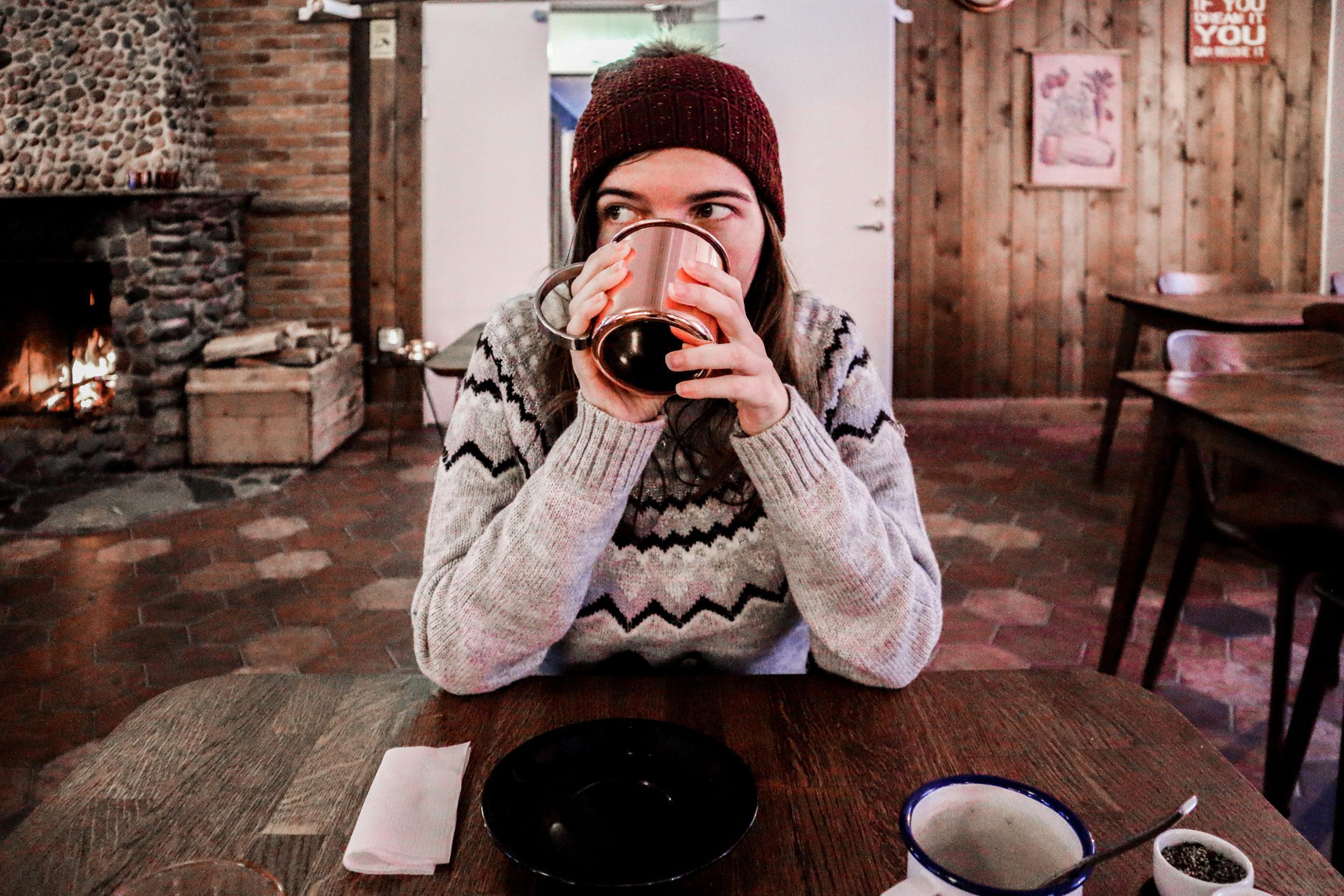 Goûter en hiver