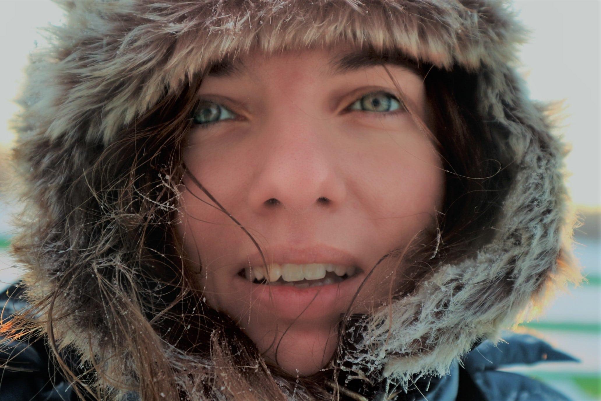 le froid en Laponie