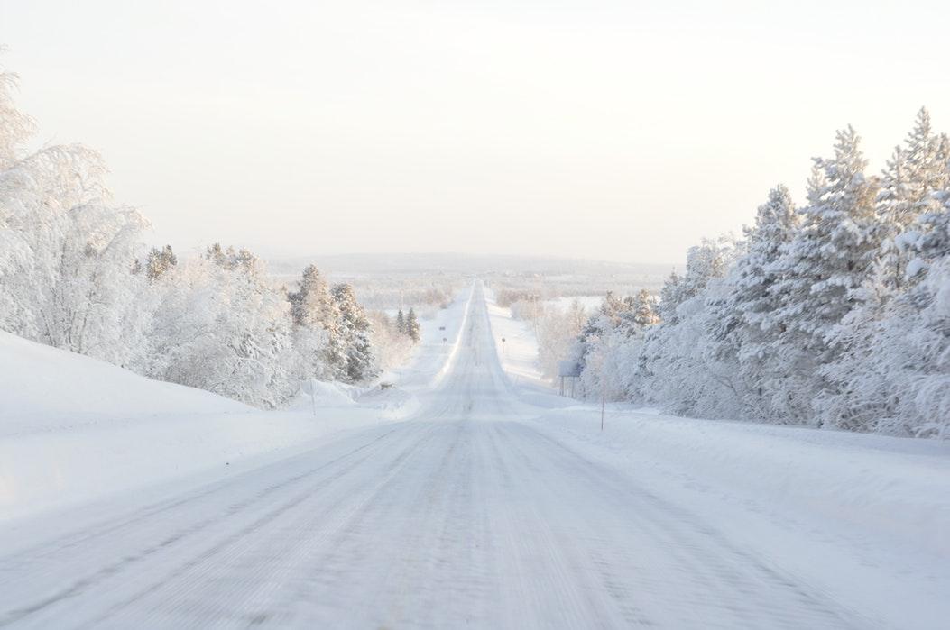 route en Laponie