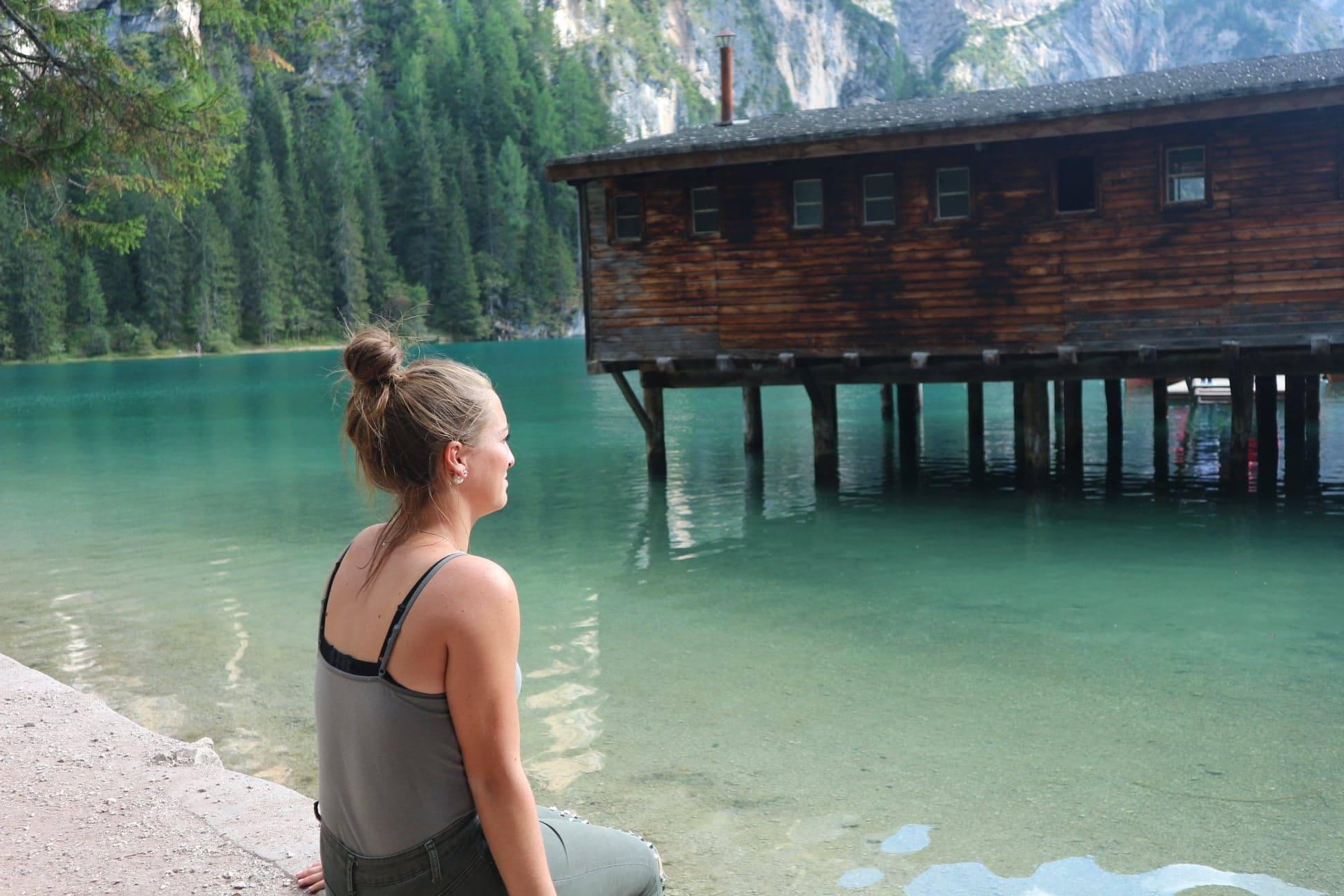 Lac de Braies - nature - Dolomites