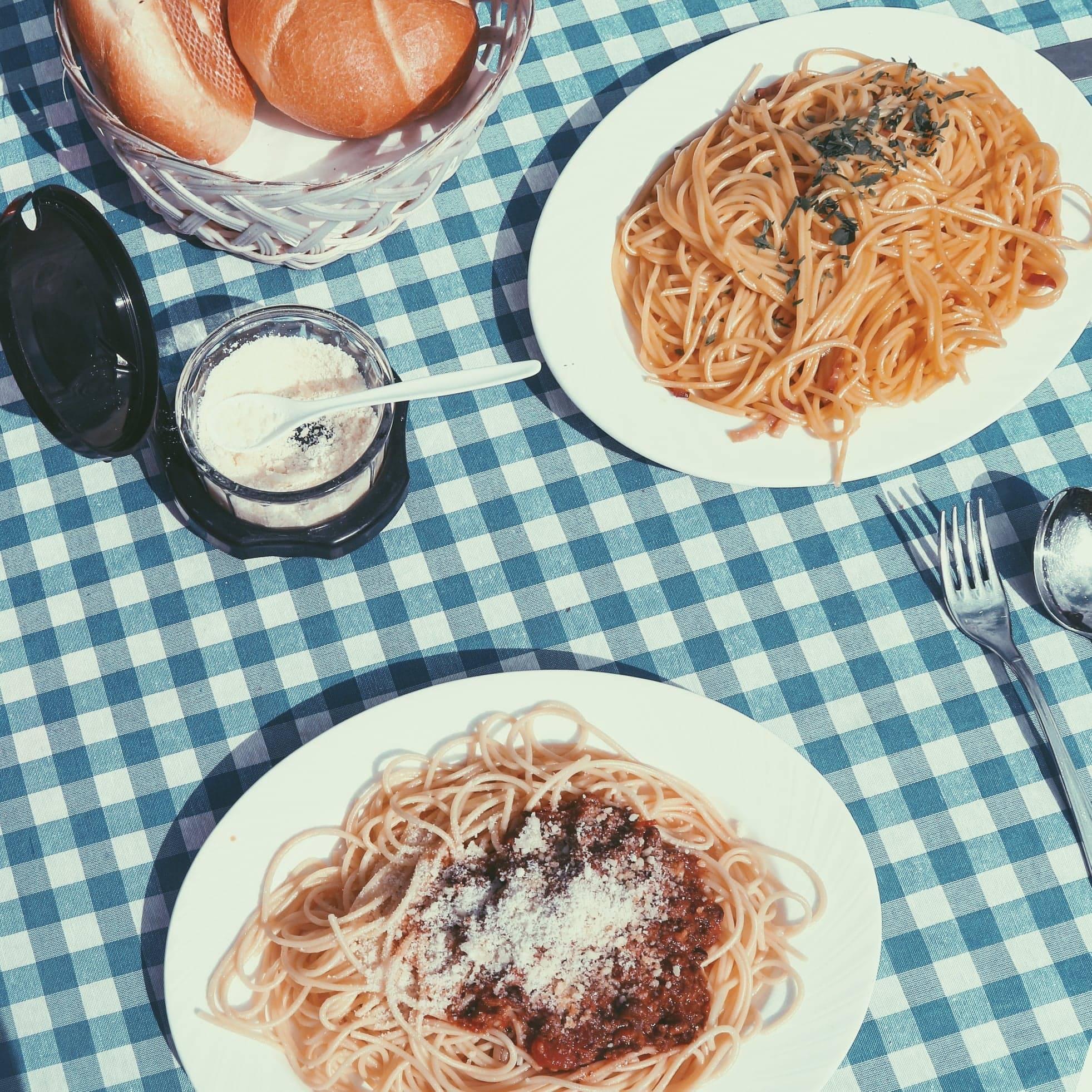 repas italien - Pasta