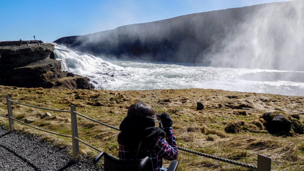 Gulfoss Islande