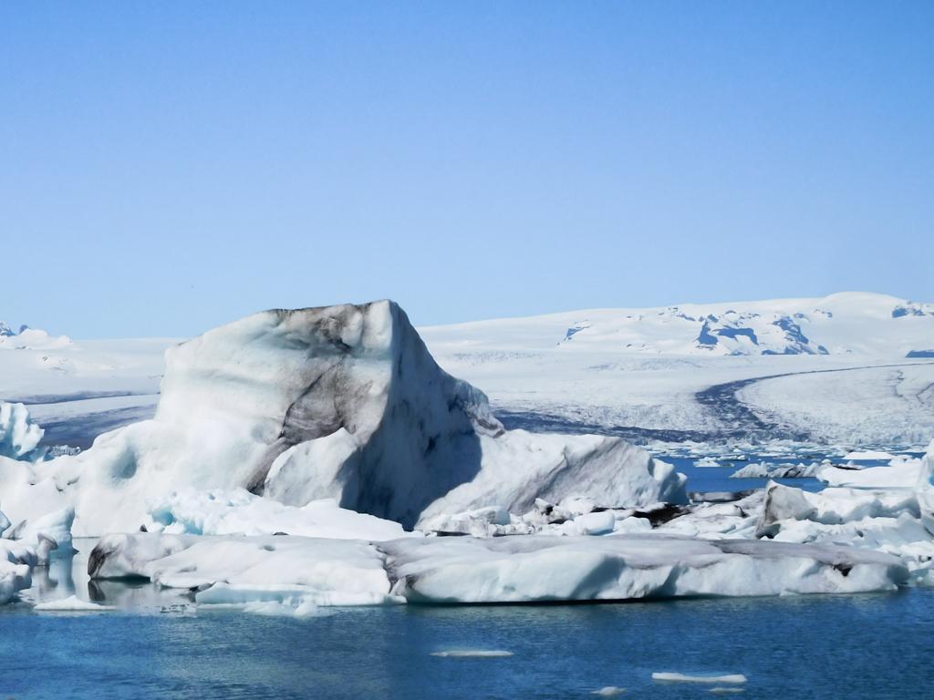 icebergs Islande