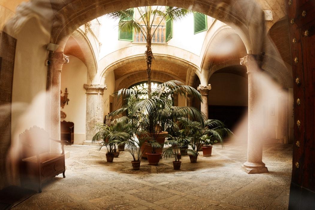 Palma de Mallorca - ancient gardens