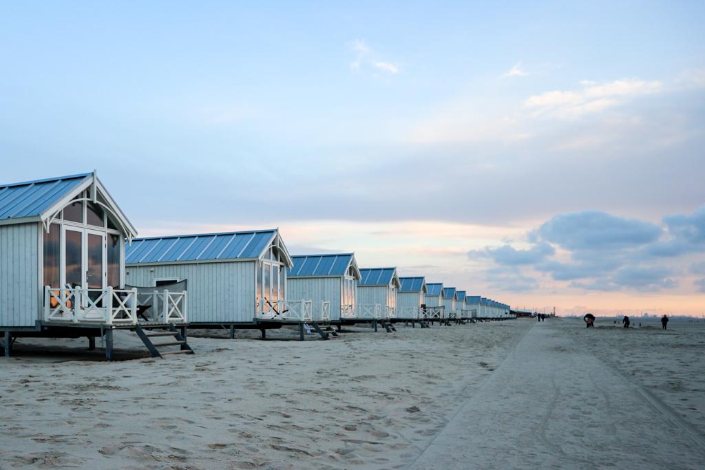 Dormir dans une maison de plage aux Pays-Bas